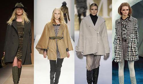 Модные женские пальто осень зима 2010 2011